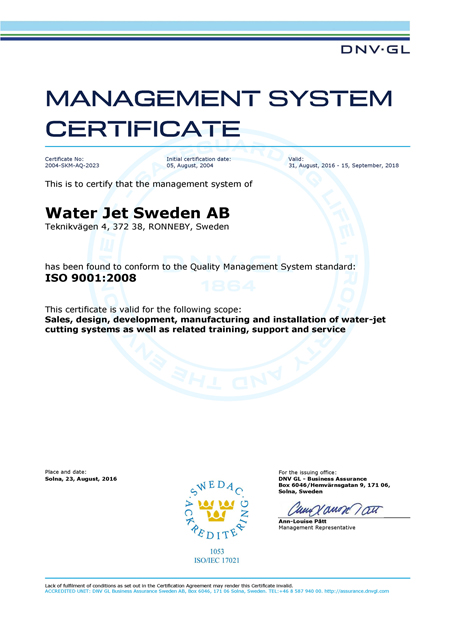 ISO-9001-Certificate-Water-Jet-Sweden-AB-eng-2