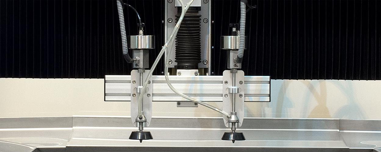 CNC waterjet cutting machine from Water Jet Sweden