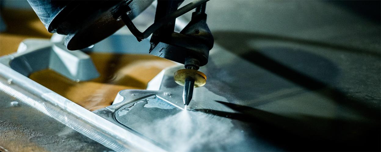 Abrasive Waterjet Cutting head - Water Jet Sweden