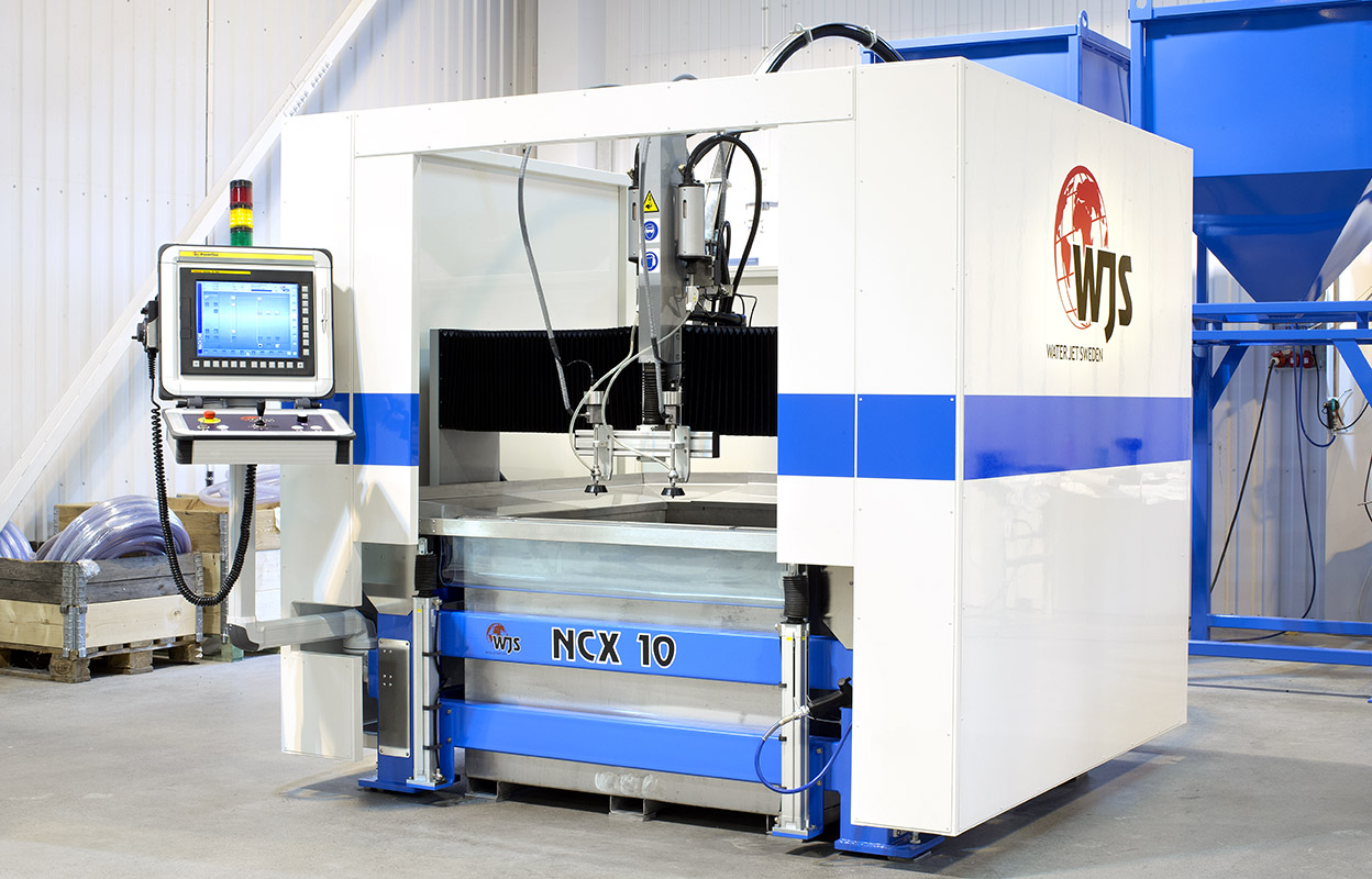 Micro and small waterjet cutting machines - Water Jet Sweden