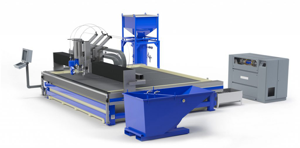 Abrasive Waterjet Cutting Machine From Water Jet Sweden